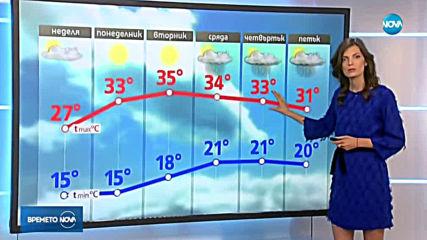 Прогноза за времето (30.06.2019 - обедна емисия)