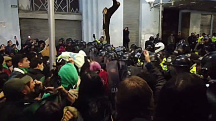 Ecuador: Scuffles as protesters condemn National Assembly's vote against decriminalising abortion