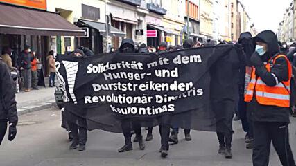 Germany: Hundreds march in support of imprisoned Greek militant