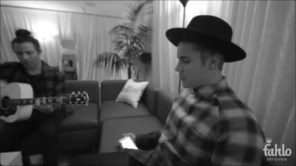 Акустична версия! Justin Bieber - Where Are Ü Now