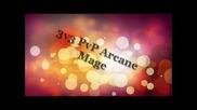 World of Warcraft 3.3.5 Pvp Arcane Mage 3v3 Santyagu