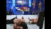 wwe smackdown 21/08/09 The Hardy Boyz and John Morrison vs The Hart Dynasty and Cm Punk 2/2