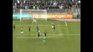 """Бербатов поигра десетина минути при загубата на """"Монако"""" с 0:2 от """"Сент Етиен"""""""
