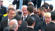 Около 70 световни лидери се събраха за погребението на Шимон Перес
