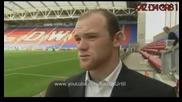 Michael Owen & Wayne Rooney Interview - 22/08/09