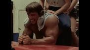 Arnold Schwarzenegger training