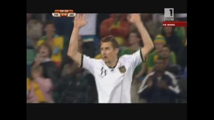 Германия 4 - 0 Австралия *световно първенство Юар 2010* (групa D) 13.06.2010.