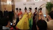 Ne. Tiger Spring 2012 Lavish Gowns at Mercedes Benz China Fashion Week