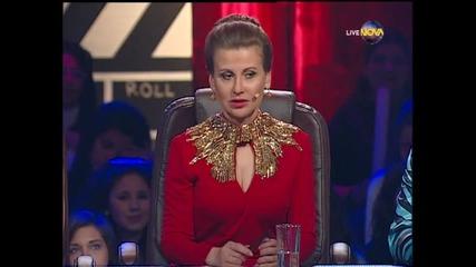Dancing Stars - Албена и Петьо - елиминации 2-ри танц (10.04.2014г.)