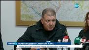 Трима гранични полицаи срещу 50 агресивни чужденци