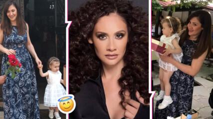 Семейно щастие: Мариана Попова и Веселин Плачков кръстиха дъщеря си