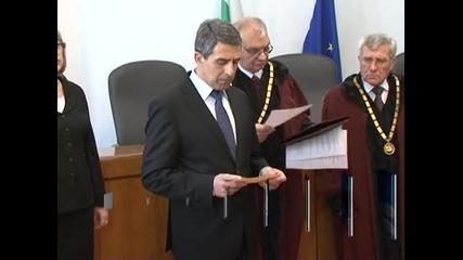 Президентът призова за дебат в парламента за избора на конституционен съдия