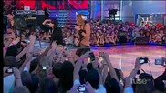 На живо! Miley и Justin - Party In The U S A ( Much Music Awards 2010 )