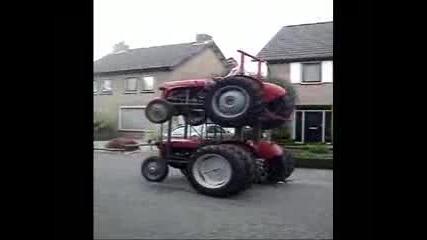 2 трактора в 1