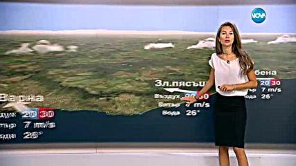Прогноза за времето (25.07.2016 - сутрешна)