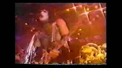 Kiss - I Was Made For Loving You !