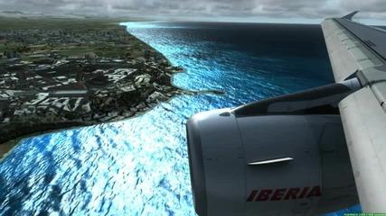 Fsx Landing in Antalya!