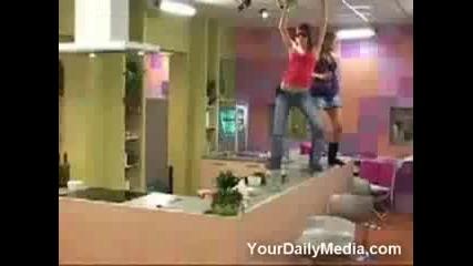 Мацка се пребива докато танцува мръсни танци