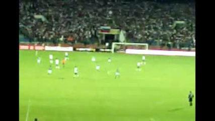 България - Ейре 1:1 + Хореография