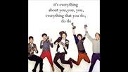 (lyrics) One Direction - Everything About You
