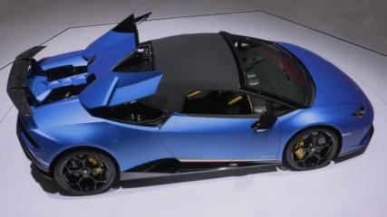 2019 Lamborghini Huracn Performante Spyder - Hot Girl - Hd