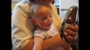 Бебе и огледало
