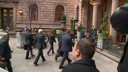 USA: Lavrov arrives at New York's Palace Hotel for Syria peace talks