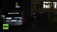 Germany: Aftermath of brawl at refugee shelter in Schneeberg