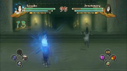 Naruto Strom 3 Full Burst : Sasuke vs Orochimaru And Kakashi vs Madara