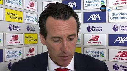 Емери: Като изключим резултата, Арсенал показа добри неща