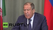 "Russia: Kiev avoiding talks with Donetsk and Lugansk is ""disturbing"" - Lavrov"
