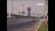 Mustang V8 biturbo bate recorde na arrancada