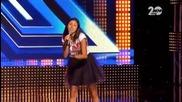 X Factor 23.09.2014 - Изпълнение на Михаела Филева