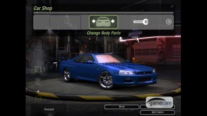 Nfs Underground 2 - How To Make Fast And Furious Skyline