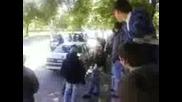 Изпращане на абитуриенти от автото Плевен 08.05.09 - 2