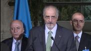 Switzerland: Syrian govt rep. presents de Mistura with proposal of amendments