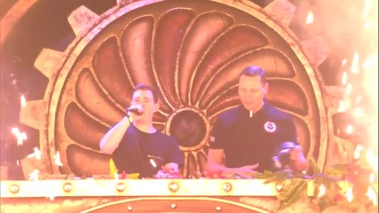 Tiesto b2b Hardwell - Live @ Tomorrowland (weekend 2) 2014