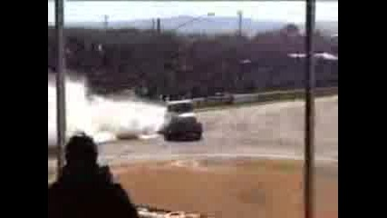 2500hp Truck Burnout