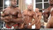 Bodybuilder Seth Feroce Pumps Up