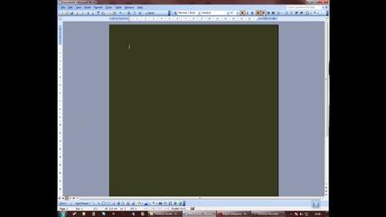 Как се прави сайт с Microsoft Word урок 1 [ Hd ]
