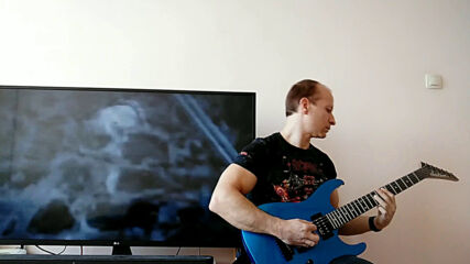Oki Guitar Player-over The Hills And Far Away (nightwish cover)