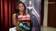 Tencent Interview with Nina Dobrev