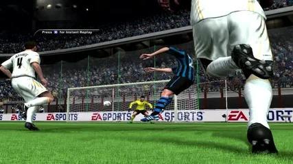 Гол на Fifa 11 s външен на D.milito