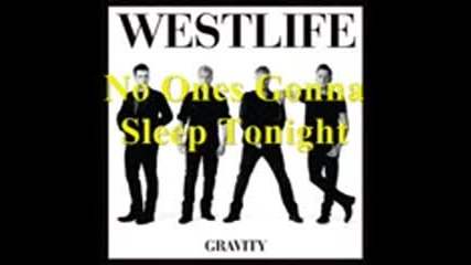 Westlife Gravity Snippets 2010