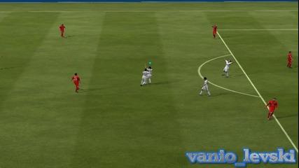 3 хубави гола с Кристиано Роналдо на Фифа 2013