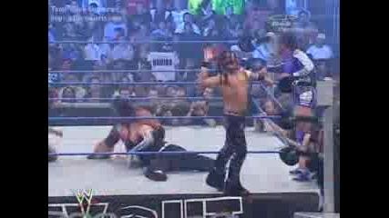 Wwe - The Hardy Boyz & Chris Benoa Vs Mnm & Mvp