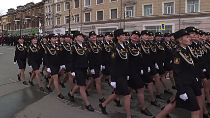 Russia: Vladivostok holds military parade to celebrate 76th anniversary of Victory Day