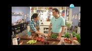 Червена плодова салата, доматена салата с овесени ядки и джоджен - Бон Апети (24.06.2013)