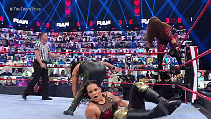 Natalya & Tamina vs. Nia Jax & Shayna Baszler – WWE Women's Tag Team Championship Match: Raw, May 17, 2021