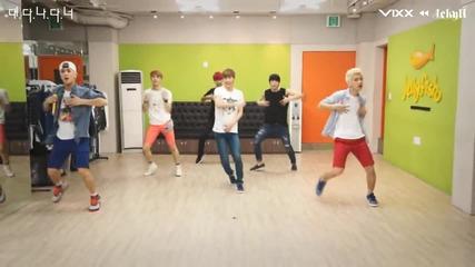 (vixx) - (practice G.r.8.u dancing Video)